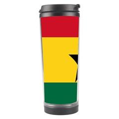 Flag of Ghana Travel Tumbler