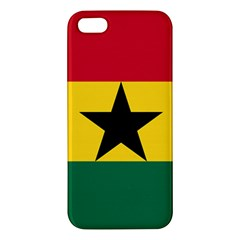 Flag of Ghana iPhone 5S/ SE Premium Hardshell Case