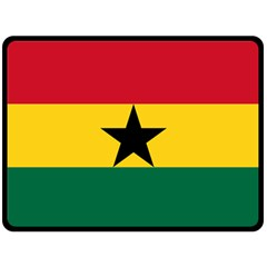 Flag of Ghana Double Sided Fleece Blanket (Large)