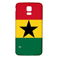 Flag of Ghana Samsung Galaxy S5 Back Case (White)