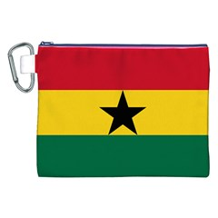 Flag of Ghana Canvas Cosmetic Bag (XXL)