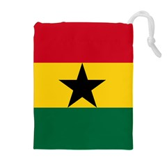 Flag of Ghana Drawstring Pouches (Extra Large)