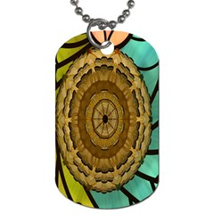Kaleidoscope Dream Illusion Dog Tag (two Sides)