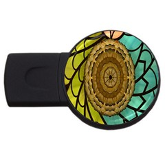 Kaleidoscope Dream Illusion USB Flash Drive Round (4 GB)