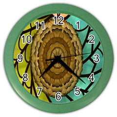 Kaleidoscope Dream Illusion Color Wall Clocks