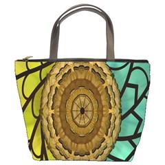 Kaleidoscope Dream Illusion Bucket Bags