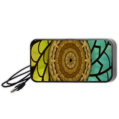 Kaleidoscope Dream Illusion Portable Speaker (Black)
