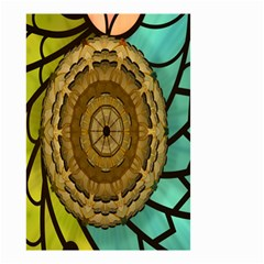 Kaleidoscope Dream Illusion Small Garden Flag (two Sides)