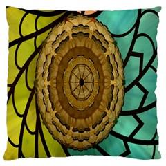 Kaleidoscope Dream Illusion Large Cushion Case (one Side)