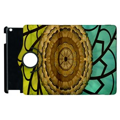 Kaleidoscope Dream Illusion Apple iPad 2 Flip 360 Case