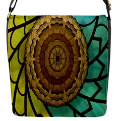 Kaleidoscope Dream Illusion Flap Messenger Bag (S)