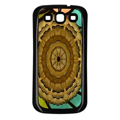 Kaleidoscope Dream Illusion Samsung Galaxy S3 Back Case (black)