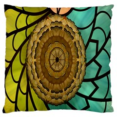 Kaleidoscope Dream Illusion Large Flano Cushion Case (two Sides)