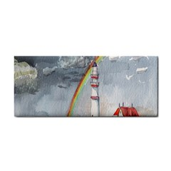 Watercolour Lighthouse Rainbow Cosmetic Storage Cases