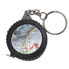 Watercolour Lighthouse Rainbow Measuring Tapes