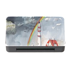Watercolour Lighthouse Rainbow Memory Card Reader with CF