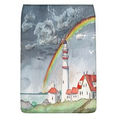 Watercolour Lighthouse Rainbow Flap Covers (l)