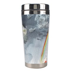 Watercolour Lighthouse Rainbow Stainless Steel Travel Tumblers