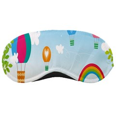 Landscape Sky Rainbow Garden Sleeping Masks