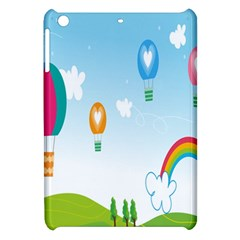 Landscape Sky Rainbow Garden Apple Ipad Mini Hardshell Case