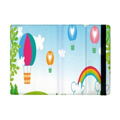 Landscape Sky Rainbow Garden Ipad Mini 2 Flip Cases
