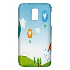 Landscape Sky Rainbow Garden Galaxy S5 Mini
