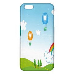 Landscape Sky Rainbow Garden Iphone 6 Plus/6s Plus Tpu Case