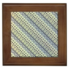 Abstract Seamless Pattern Framed Tiles