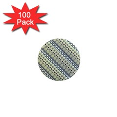 Abstract Seamless Pattern 1  Mini Magnets (100 Pack)