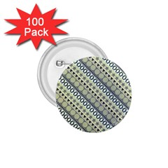 Abstract Seamless Pattern 1 75  Buttons (100 Pack)