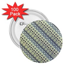 Abstract Seamless Pattern 2 25  Buttons (100 Pack)