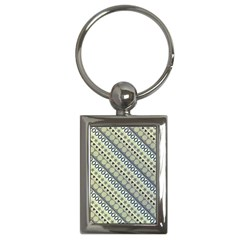 Abstract Seamless Pattern Key Chains (Rectangle)