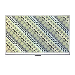 Abstract Seamless Pattern Business Card Holders