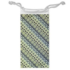 Abstract Seamless Pattern Jewelry Bag