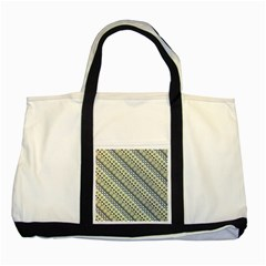 Abstract Seamless Pattern Two Tone Tote Bag