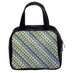 Abstract Seamless Pattern Classic Handbags (2 Sides)