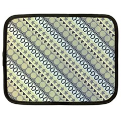 Abstract Seamless Pattern Netbook Case (xl)