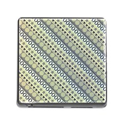 Abstract Seamless Pattern Memory Card Reader (Square)