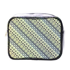 Abstract Seamless Pattern Mini Toiletries Bags