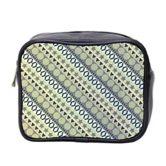 Abstract Seamless Pattern Mini Toiletries Bag 2 Side