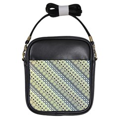 Abstract Seamless Pattern Girls Sling Bags