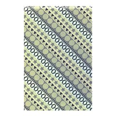 Abstract Seamless Pattern Shower Curtain 48  x 72  (Small)