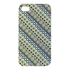 Abstract Seamless Pattern Apple Iphone 4/4s Premium Hardshell Case