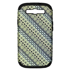 Abstract Seamless Pattern Samsung Galaxy S Iii Hardshell Case (pc+silicone)