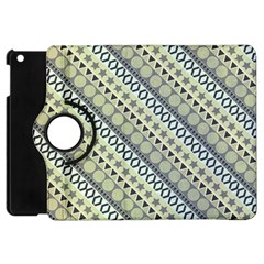 Abstract Seamless Pattern Apple iPad Mini Flip 360 Case