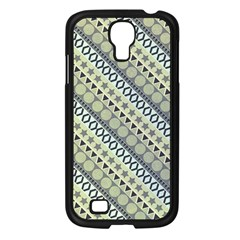 Abstract Seamless Pattern Samsung Galaxy S4 I9500/ I9505 Case (Black)