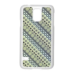 Abstract Seamless Pattern Samsung Galaxy S5 Case (white)