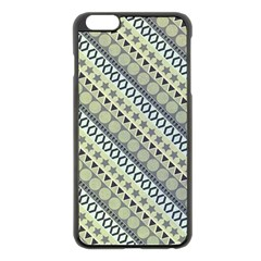 Abstract Seamless Pattern Apple Iphone 6 Plus/6s Plus Black Enamel Case
