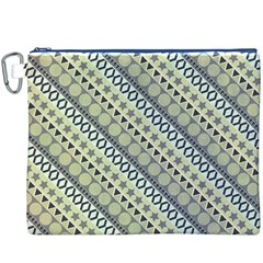 Abstract Seamless Pattern Canvas Cosmetic Bag (xxxl)