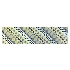 Abstract Seamless Pattern Satin Scarf (oblong)